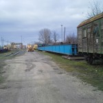 CELLDÖMÖLK vasúti híd trailerről vagonra daruzása (3)