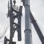 SZÉKPUSZTA VODAFON torony bontása (3)