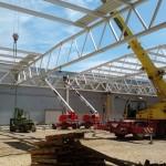 VALEO Veszprém csarnok építése (2)