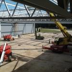 VALEO Veszprém csarnok építése (3)