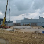 VALEO Veszprém csarnok építése (4)