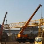 MAL Zrt. Ajka Hídmérleg bontása páros daruzás